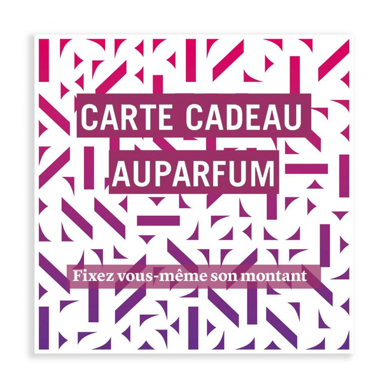 Carte Cadeau - Shop Auparfum, by Nez